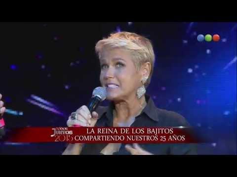 Xuxa en la gala de los 25 años Todos Juntos 2015