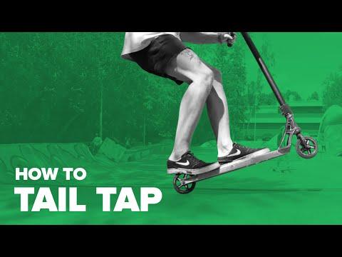 Как сделать tailwhip на самокате