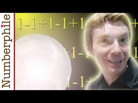One minus one plus one minus one Numberphile
