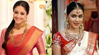 5 Gorgeous Ways To Wear Saree With Thin Perfect Pleats To Look Slim|South Indian Style Saree Draping
