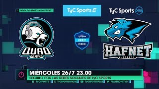 Liga TyC Sports IVECO de FIFA 17: Quad Gaming vs. Hafnet eSports
