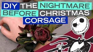 DIY Nightmare Before Christmas Corsage | Disney Style