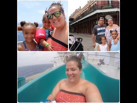Cruise Vlog⎮8/25/17-8/26/17⎮~Cruise Day 5&6! Unexpected Port in New Orleans, LA!~