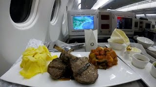 BUSINESS CLASS Flight with Turkish Airlines (Boston- Istanbul)