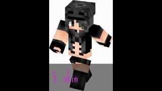 Top 10 Minecraft lány skin