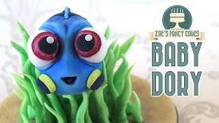 Finding Dory cake topper: baby Dory