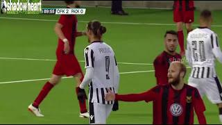 Östersund vs PAOK  2-0 Highlights |Έστερσουντ - ΠΑΟΚ 2-0| {24/8/2017}