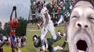 THE GREATEST VIDEO OF ALL TIME!! AMAZING HIGH SCHOOL TOUCHDOWNS COMPILATION REACTION