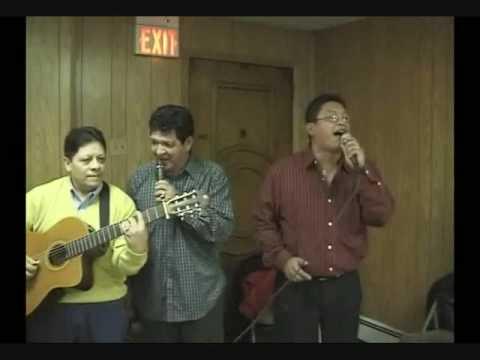 Santiago Vallejo Pañuelo Blanco a duo con su padre el Sr. Claudio Vallejo