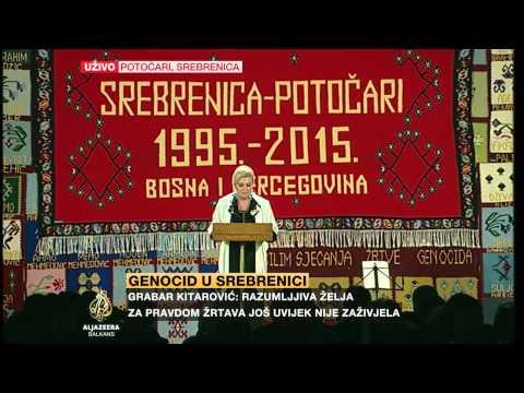Xxx Mp4 Kolinda Grabar Kitarović Na Obilježavanju Godišnjice Genocida U Srebrenici 3gp Sex