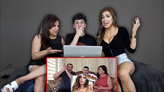 MOLLY REACTS TO MY DAD SMASHING OR PASSING HER... (ft. Mom)