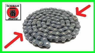 how to clean and lubricate a motorcycle drive  chain  oil maintenance