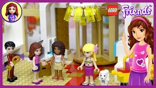Lego Friends Heartlake Grand Hotel Set Part 1 Unboxing Building Review - Kids Toys