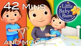 Diddle Diddle Dumpling, My Son John | Plus Lots More Nursery Rhymes | 42 Mins from LittleBabyBum!