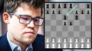 Stockfish 9 gives Magnus (Age 27) four free moves..