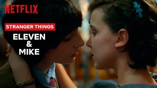 Eleven and Mike's Love Story   Stranger Things   Netflix