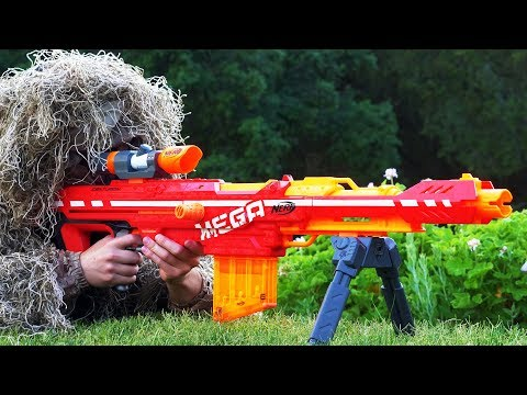 Nerf War Snipers Vs Thieves Part 1
