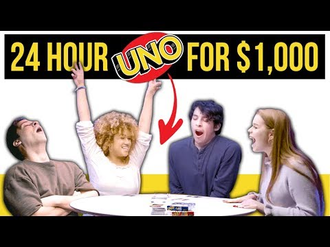 Epic 24 HOUR UNO Game For 1000