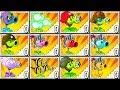 Plants vs Zombies 2 Mod - ALL PEA MAX LEVEL POWER-UP vs ...