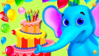 Happy Birthday to You | Kids Party Songs & 3D Nursery Rhymes Collection by Little Treehouse