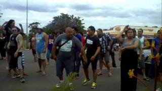 Kalgoorlie Flash Mob Haka