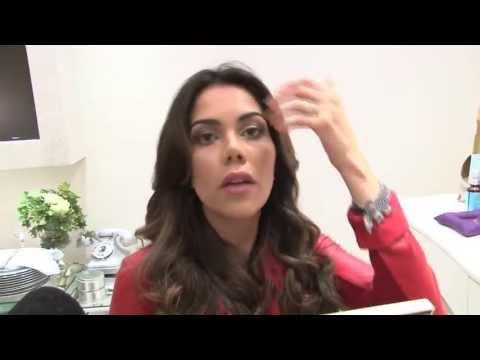 Elimine as rugas e o bigode chinês com massagem Daniela Albuquerque ensina