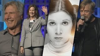 40 Years of Star Wars Panel - Funny, Memorable Moments and Emotional Tribute to Carrie Fisher