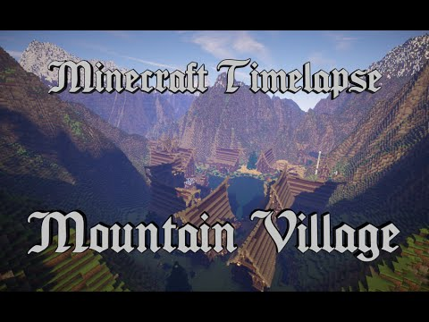 Xxx Mp4 Minecraft Timelapse Epic Mountain Village Full HD 1080p Download 3gp Sex