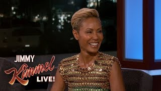 Jada Pinkett Smith on Aladdin, Vacations with Husband Will & Pornography