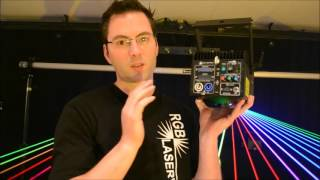 ministar 4.0  and  2.5   RGB Laser pure diode 100khz analog