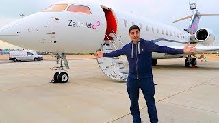 Private Jet with a BILLIONAIRE !!!