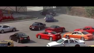 Fast and Furious 2 - Police Chase ( Tech-Music™)