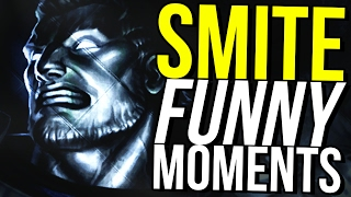 HERCULES IS IMMORTAL! - SMITE FUNNY MOMENTS