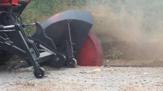Disc Trencher Video