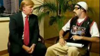 Ali G - Ice Cream Glove Business - Donald Trump