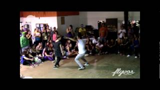 Street Cypher Chile  #SCAbril2013 - Final Dance Hall - Gazal vs Camilo Toro (Ganador/Winner)