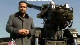 Iran Self-Propelled HM-41 [155mm] wheeled Howitzer توپ 155م.م. خودكششي چرخدار