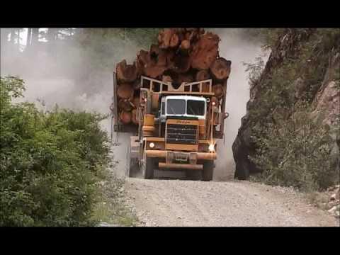 Big Trucks in the Canadian West truckingFantastic