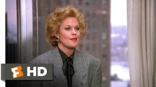 Working Girl (5/5) Movie CLIP - Tess's New Job (1988) HD