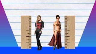 How Much Taller? - Avril Lavigne vs Carrie Fisher!