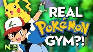 Real Life Pokemon Gym Opening in Japan!