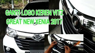 Menggati logo great new xenia dengan logo vitz