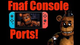 Top 5 Features I Want to See in the FNAF Console Ports!