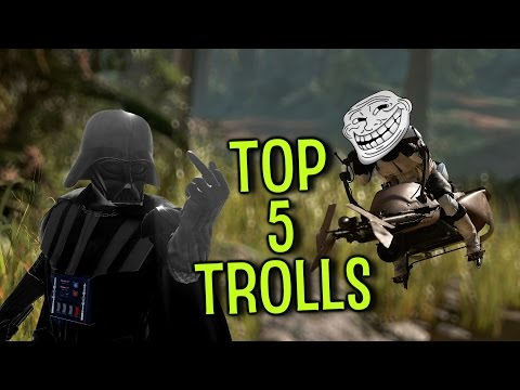 Top 5 Ways to Troll in Star Wars Battlefront