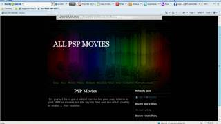 How to download psp movies for free