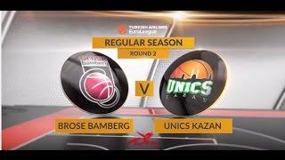Highlights: Brose Bamberg-Unics Kazan