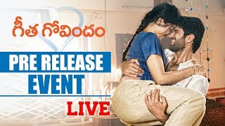 Geetha Govindam Pre Release Full Event || Vijay Deverakonda, Rashmika Mandanna, Parasuram