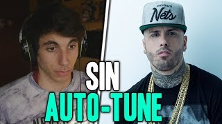 NICKY JAM | SU VOZ REAL SIN AUTO-TUNE