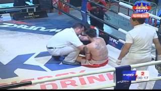Meach Sokra, Cambodia Vs Keng Kat, Thai, Khmer Boxing 7 october 2018