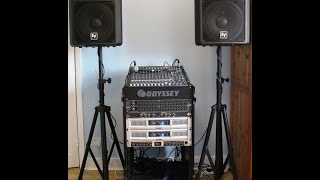 How to setup PA system for band , live events , conference meeting rooms